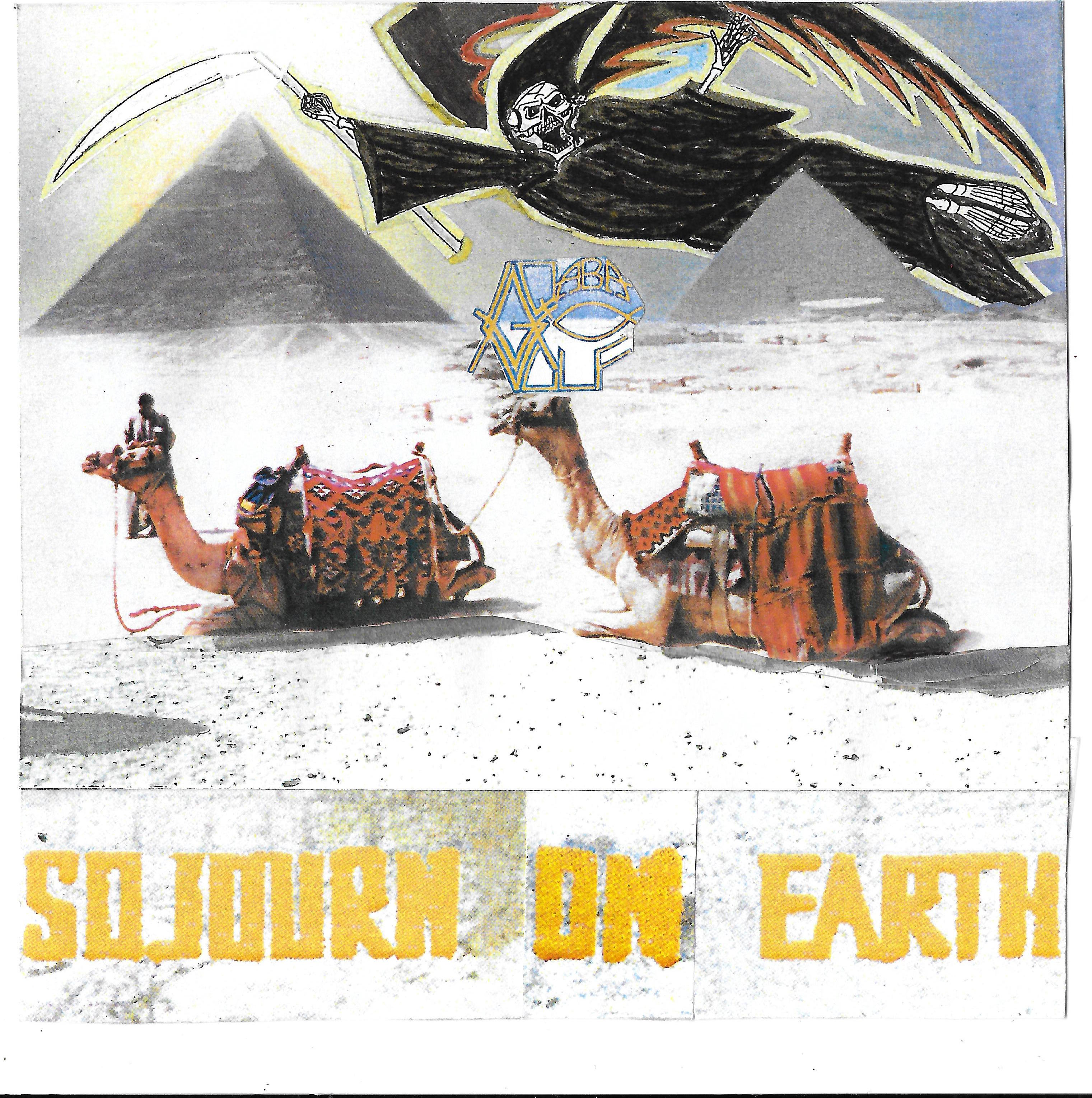SOJOURN ON EARTH front cover artwork